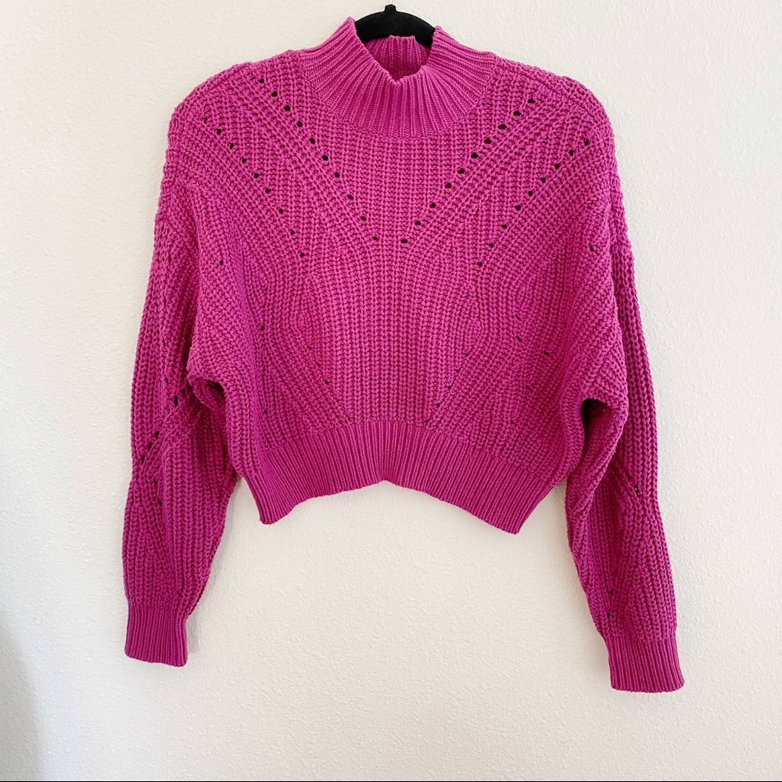 Product Image 1 - Lottie Moss Cable Knit Mock