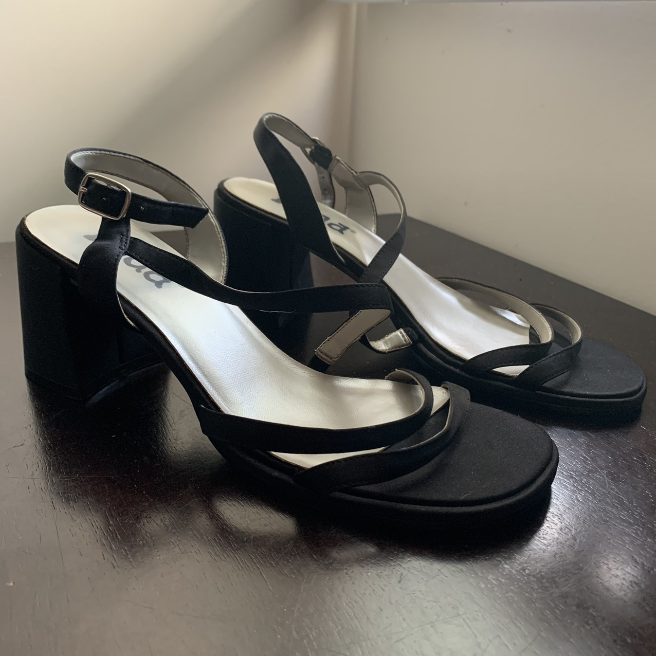 Product Image 1 - Black Strappy Heels  OUT OF TOWN