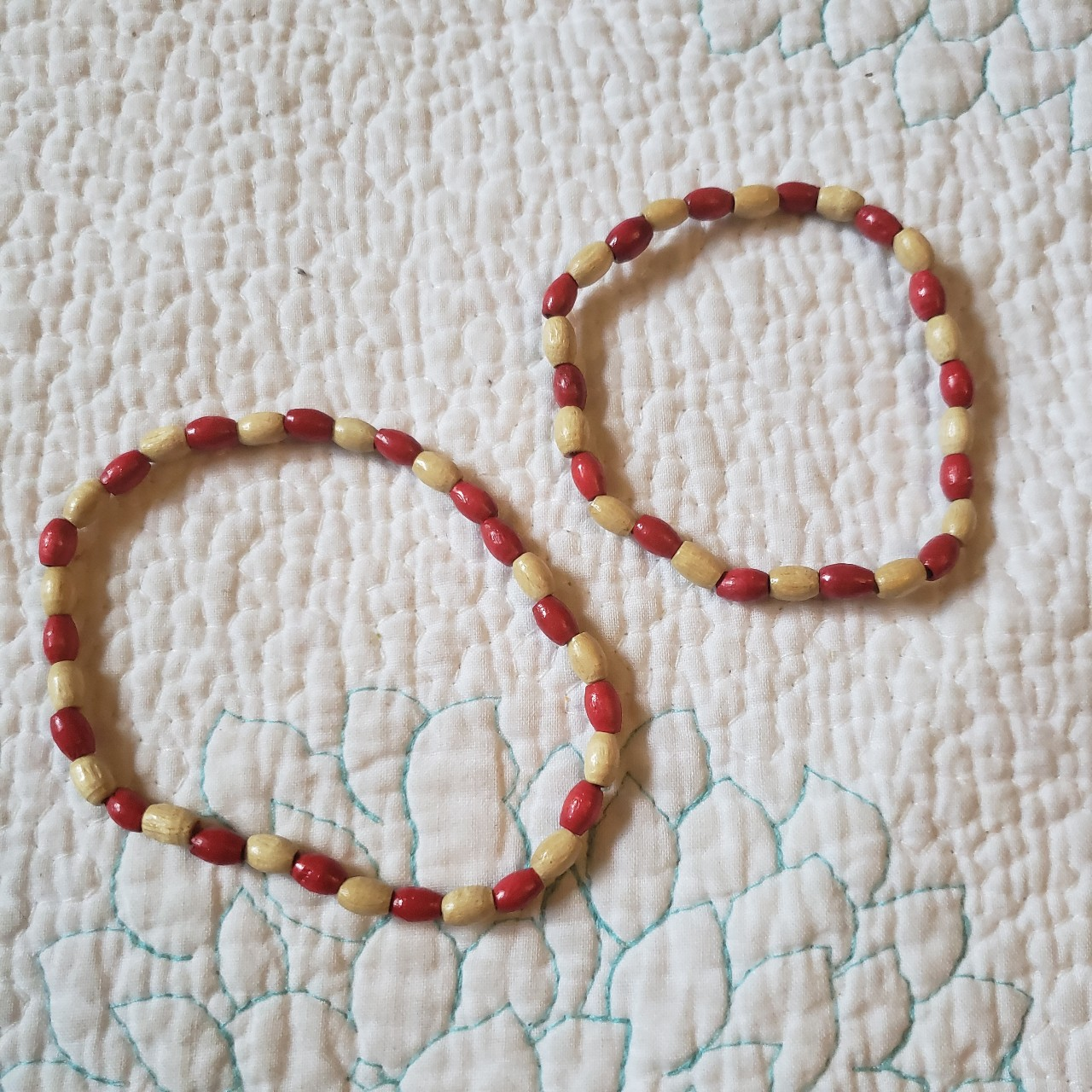 Product Image 1 - Handmade wooden bracelet and ankle
