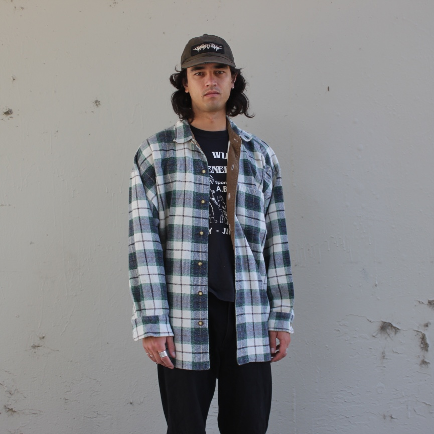 Product Image 1 - BLUE GREEN AND WHITE PLAID