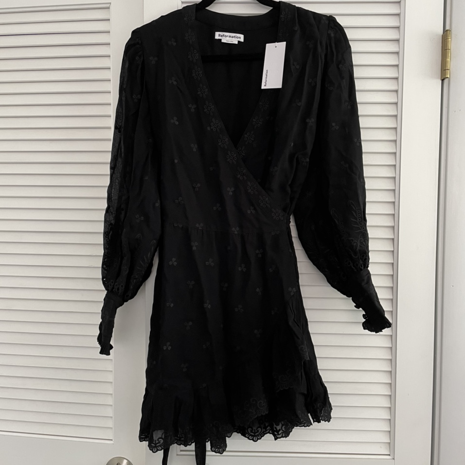 Product Image 1 - Reformation black dress with tag  Retail: