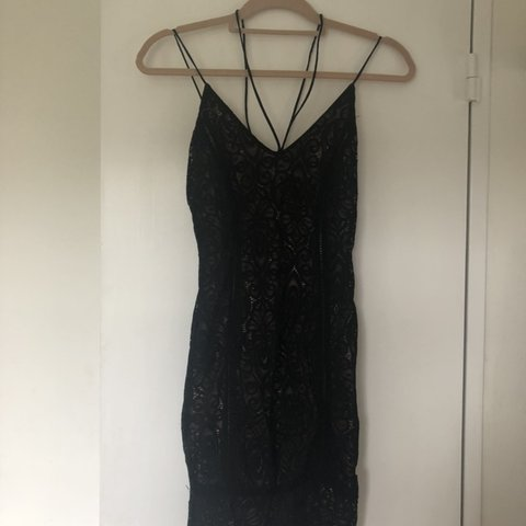 38bfc847 Topshop lace bodycon dress. Similar to pretty little thing. - Depop