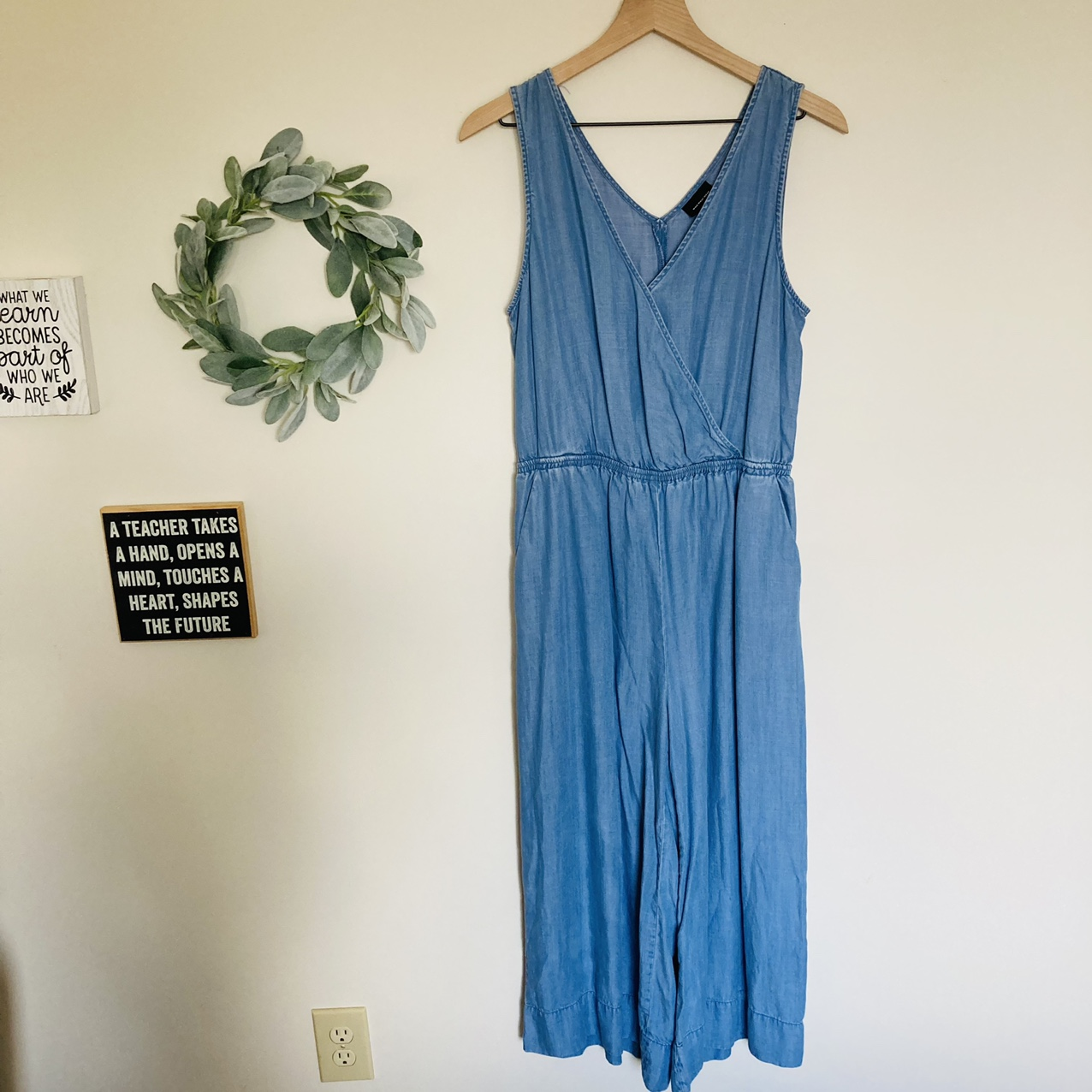 Product Image 1 - Who What Wear denim jumpsuit.
