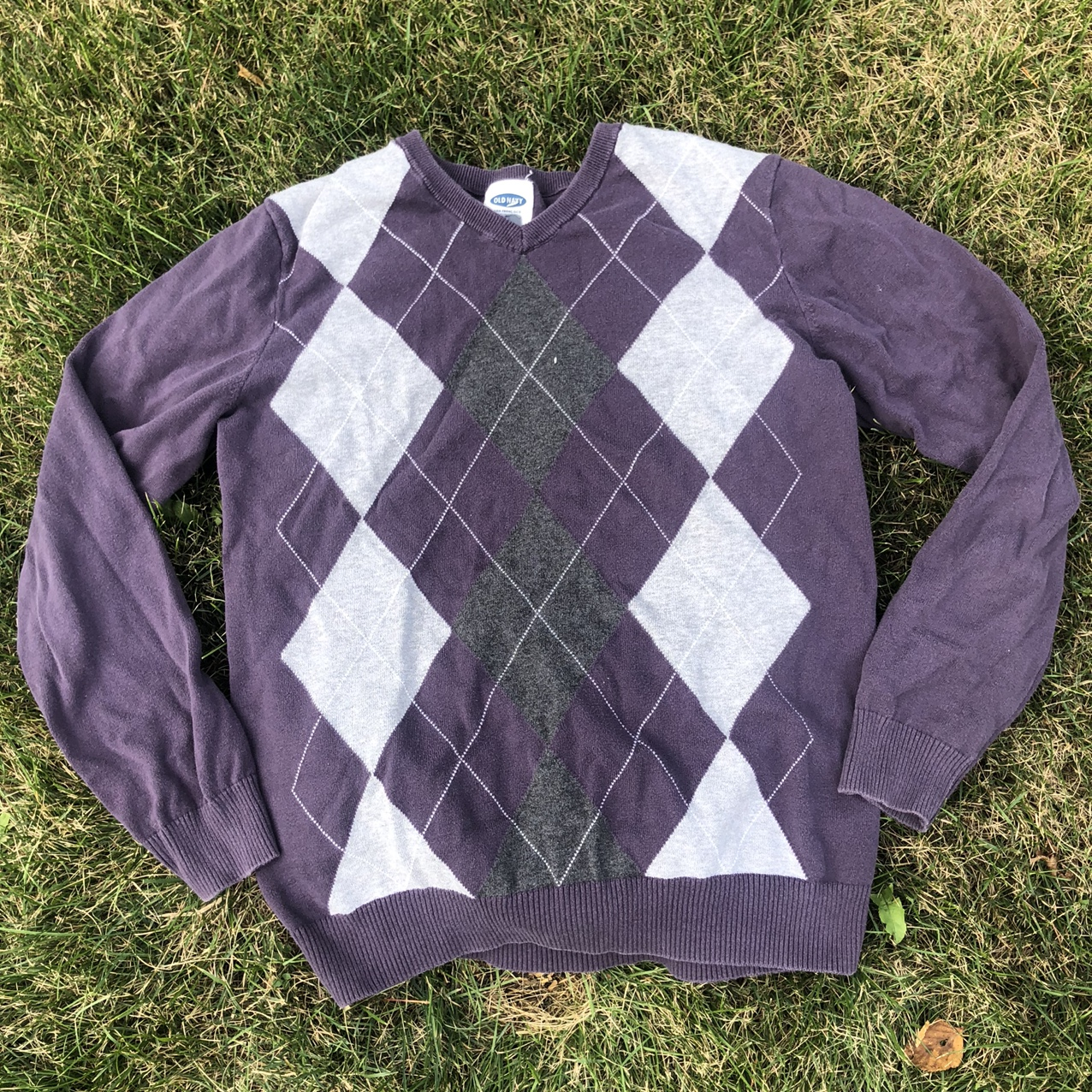Product Image 1 - adorable purple old navy argyle