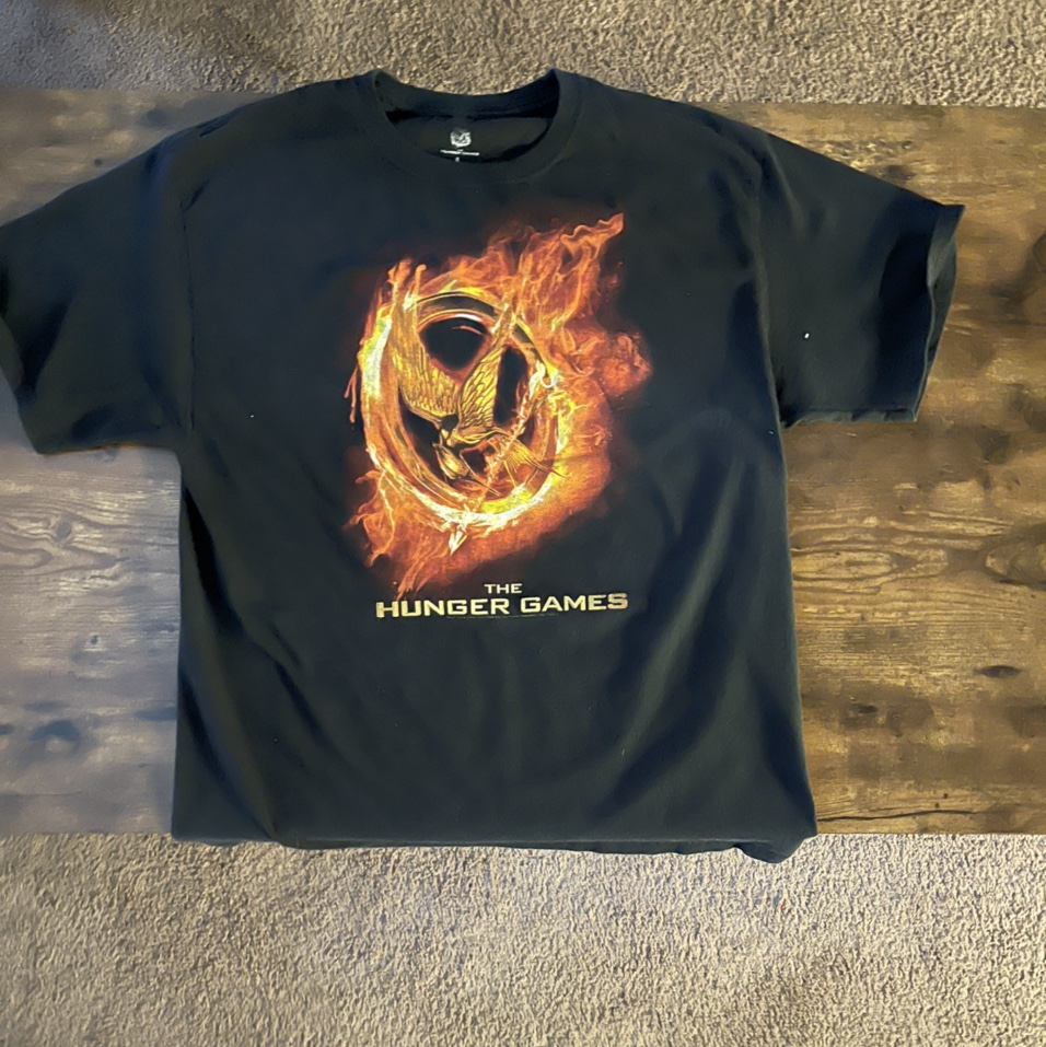 """Product Image 1 - Large black """"The Hunger Games"""""""