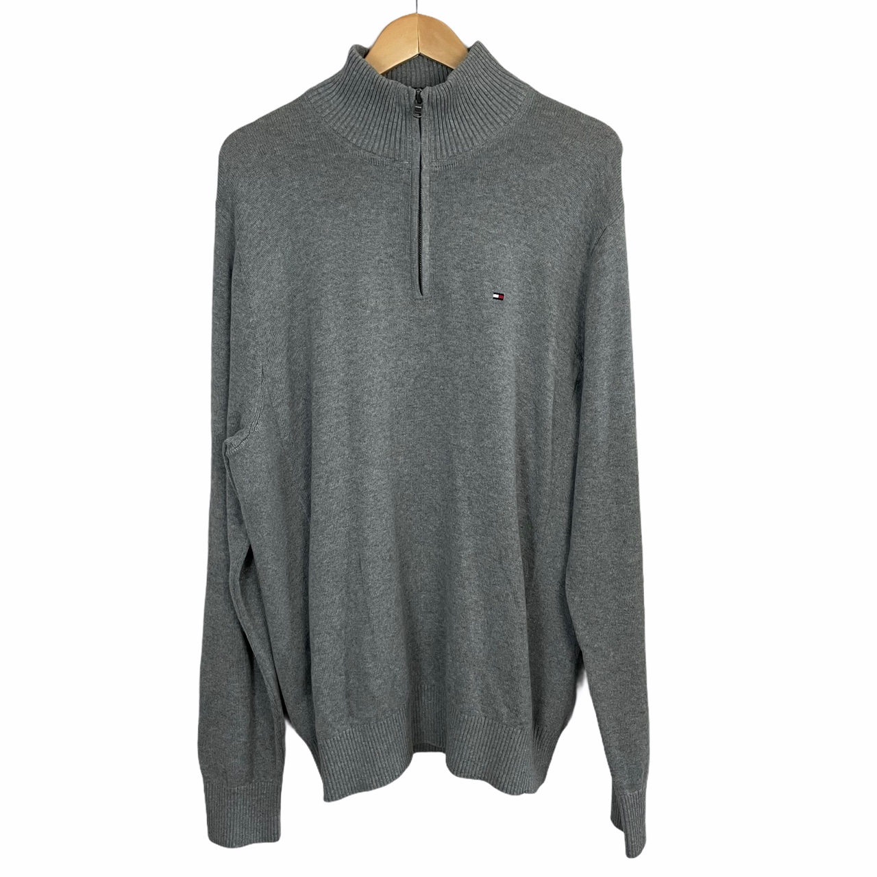 Product Image 1 - Tommy Hilfiger Quarter Zip Sweater •
