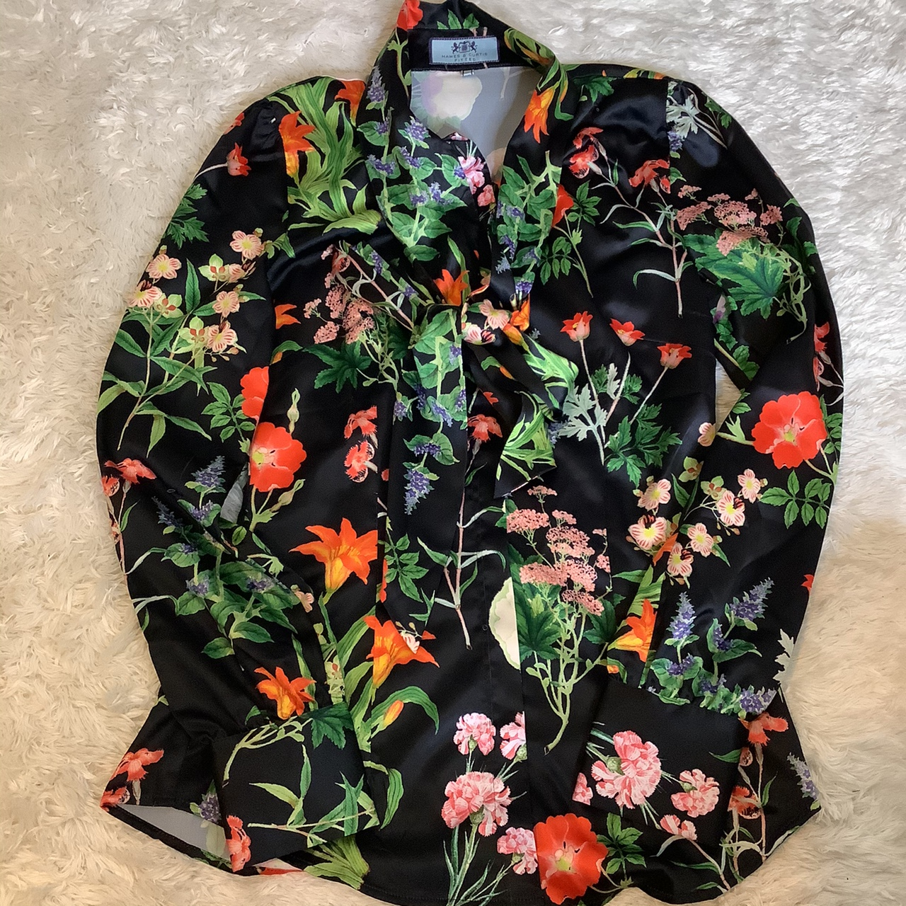 Product Image 1 - Hawes & Curtis floral print