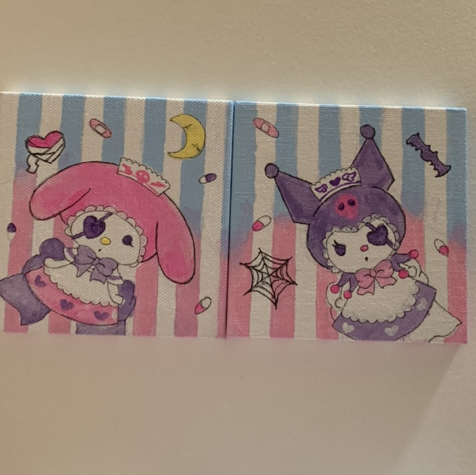 Product Image 1 - Sanrio My melody and Kuromi