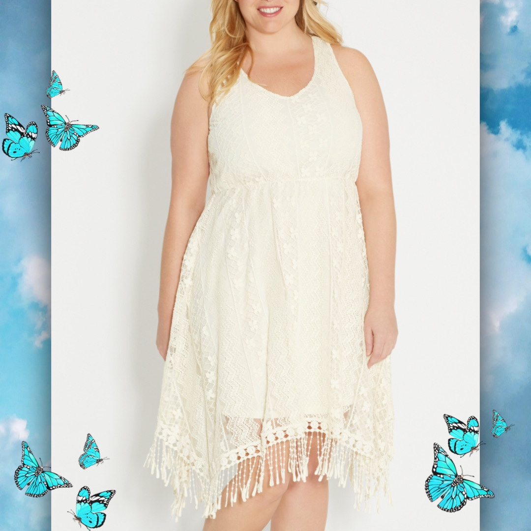 Product Image 1 - White Summer Dress  FREE SHIPPING   Brand: