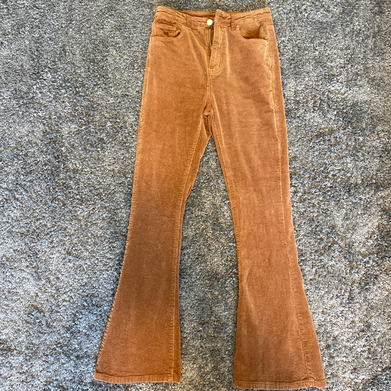 Product Image 1 - Thrifted brown corduroy pants. Looks