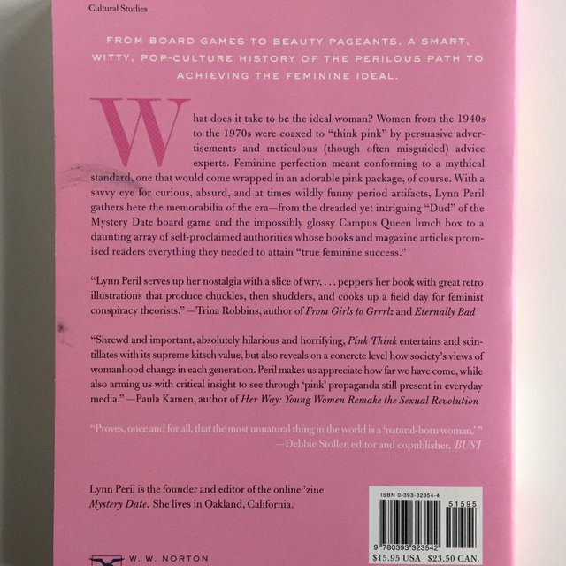"""pink think lynn peril thesis In her essay pink think, lynn peril explains and criticizes """"pink think"""" roles by showing that the world has changed and now women have more roles than ever before with her argument, lynn peril describes the preconception of female, how feminine ideal affects women's life, as well as claims that """"pink think"""" or those."""