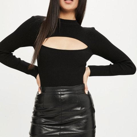 5d686be92a @alocker325. last month. Gravesend, United Kingdom. Missguided knitted  bodysuit with cut out detail ...