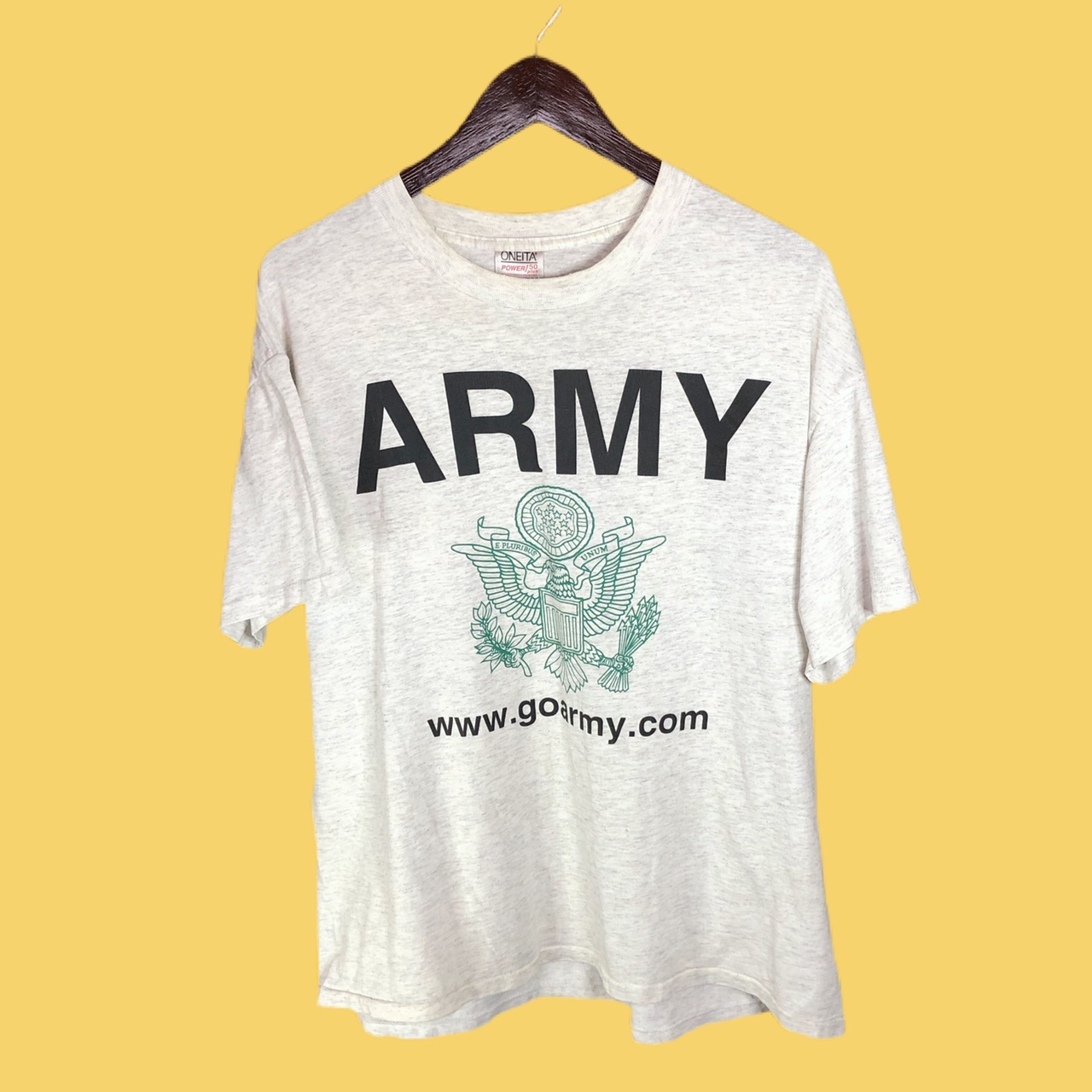 Product Image 1 - vintage 90s army spellout tee