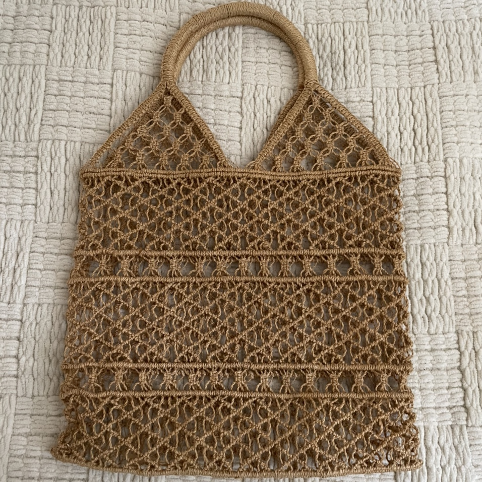 Product Image 1 - rlly pretty vintage tote bag! the