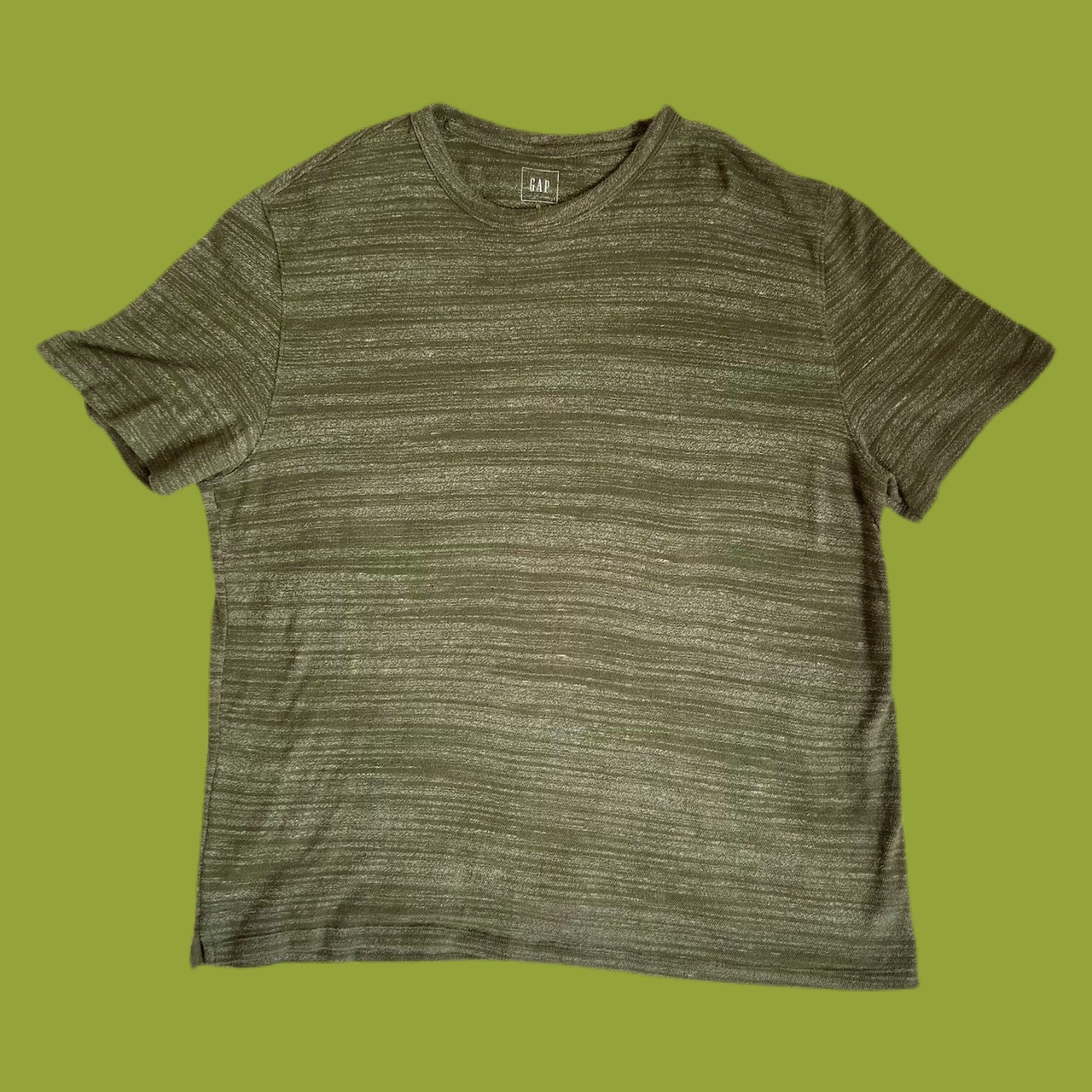Product Image 1 - Olive Green T-Shirt Crew Neck