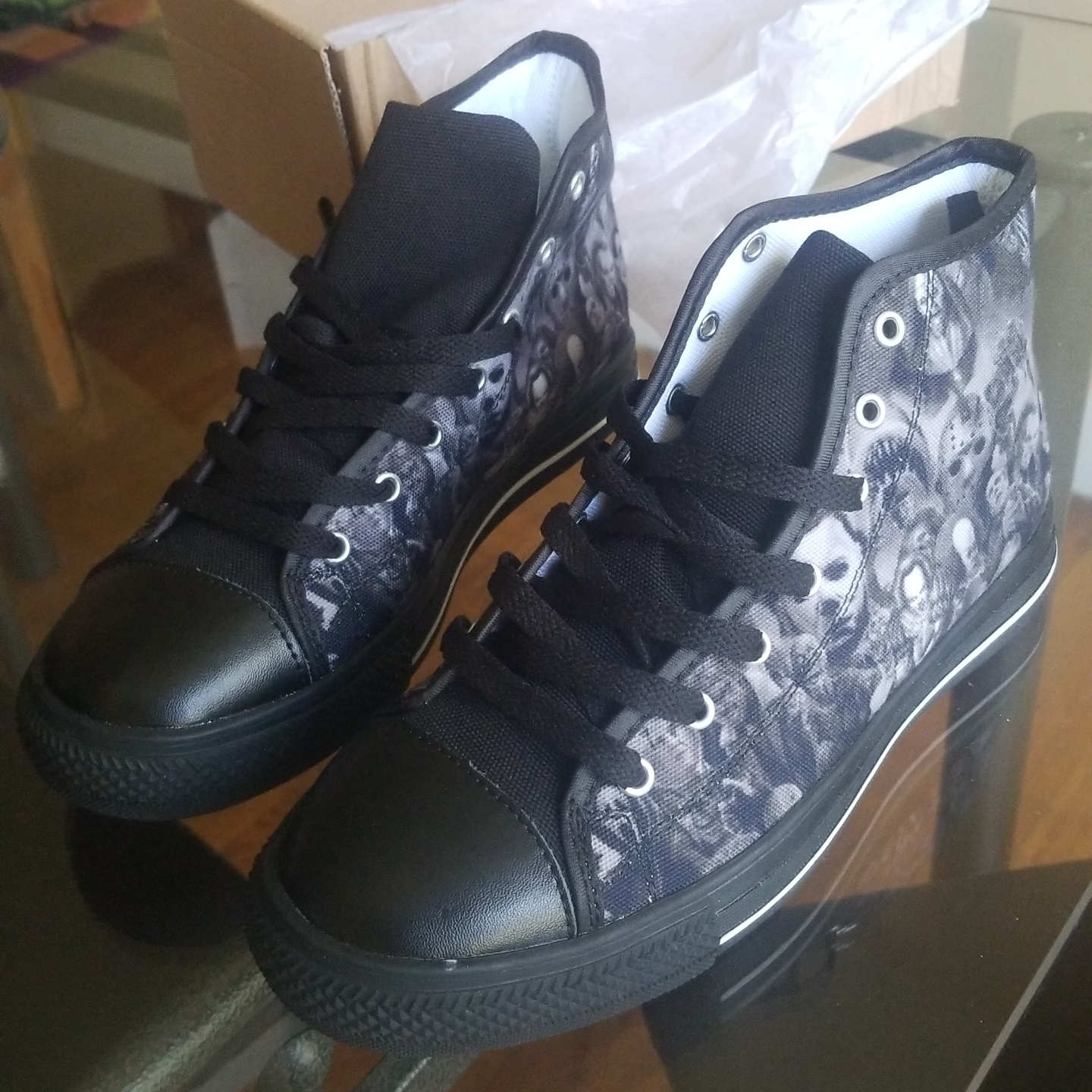 Horror Movie Converse Chuck Taylor-Style Shoes Brand... - Depop