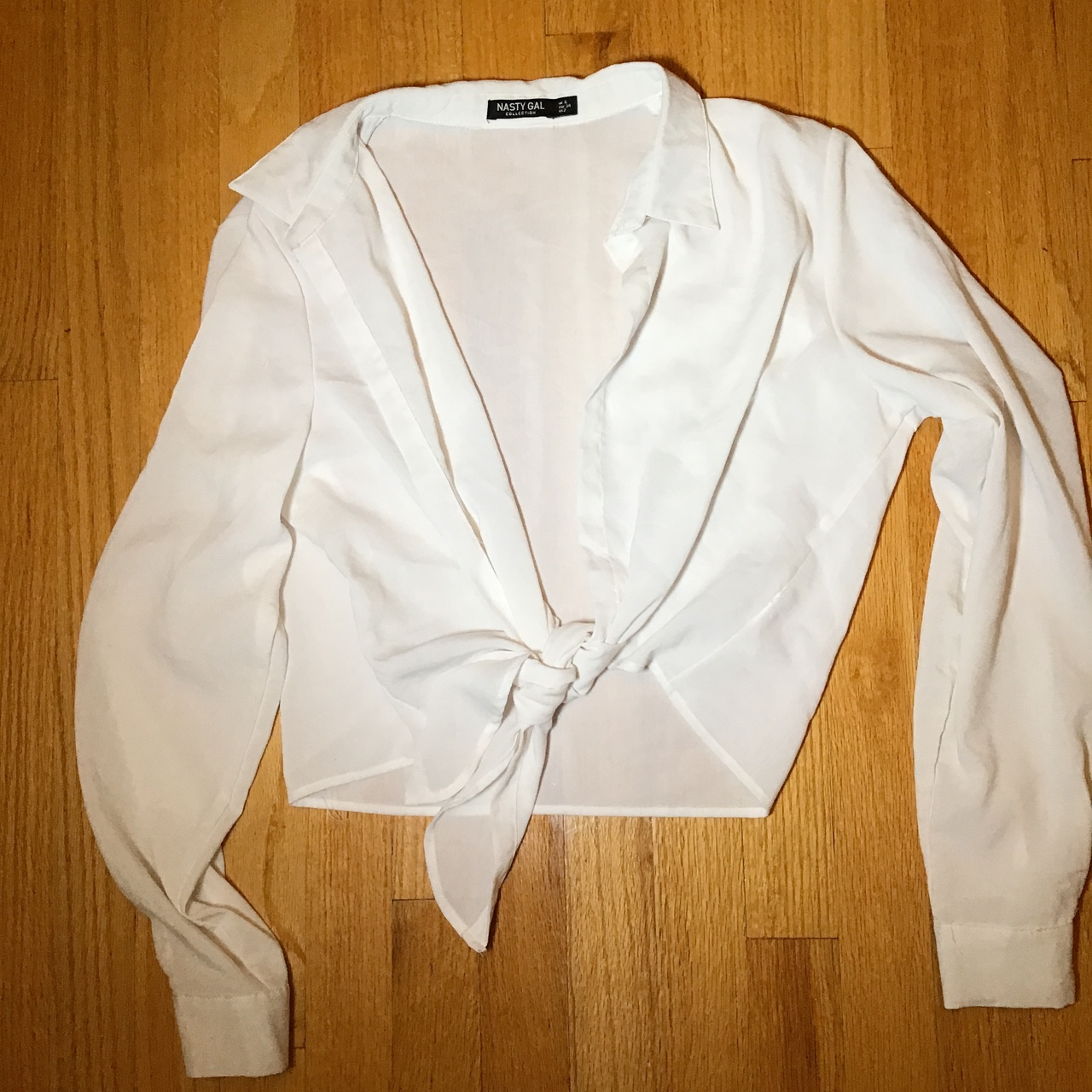Product Image 1 - Nasty Gal white tie blouse