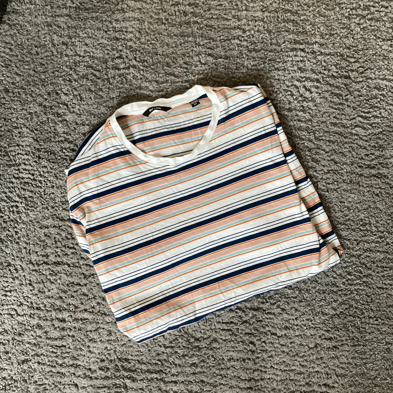 Product Image 1 - only & sons striped t-shirt
