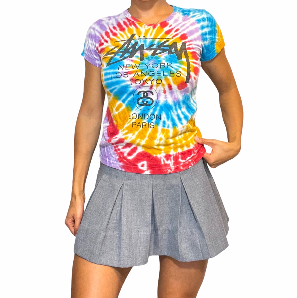 Product Image 1 - Stüssy spiral tie dye colorful