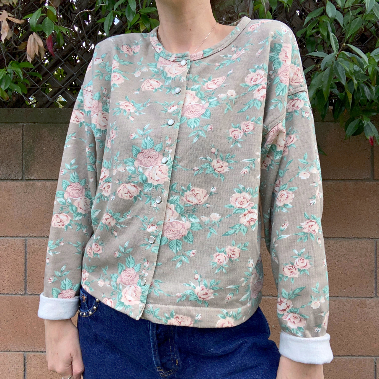 Product Image 1 - vintage floral button up cardigan
