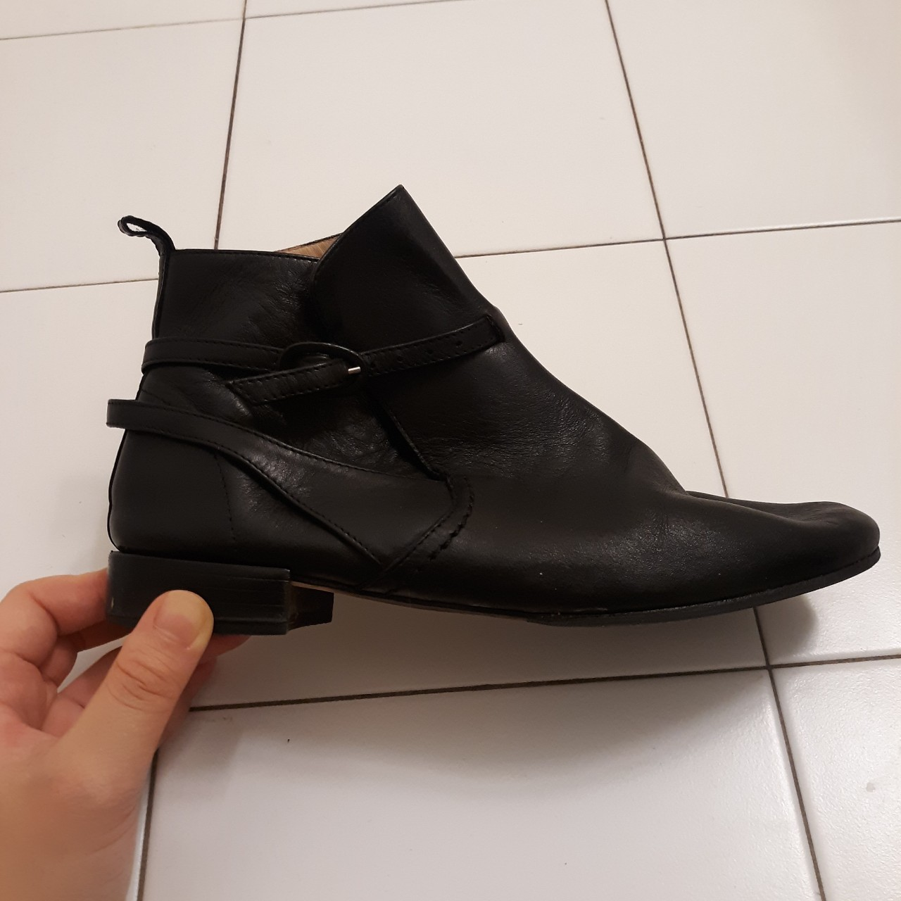 Product Image 1 - FAIRYCORE VINTAGE CHELSEA ANKLE BOOTS