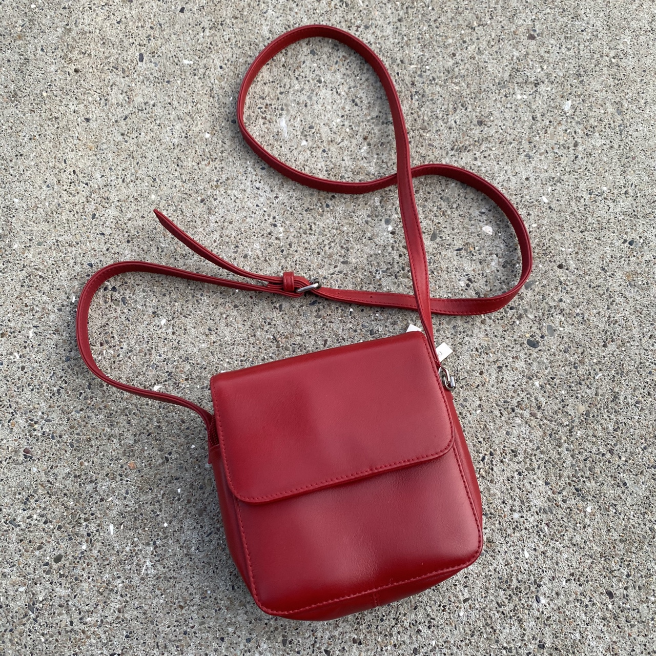 Product Image 1 - Red Hobo International Leather Purse