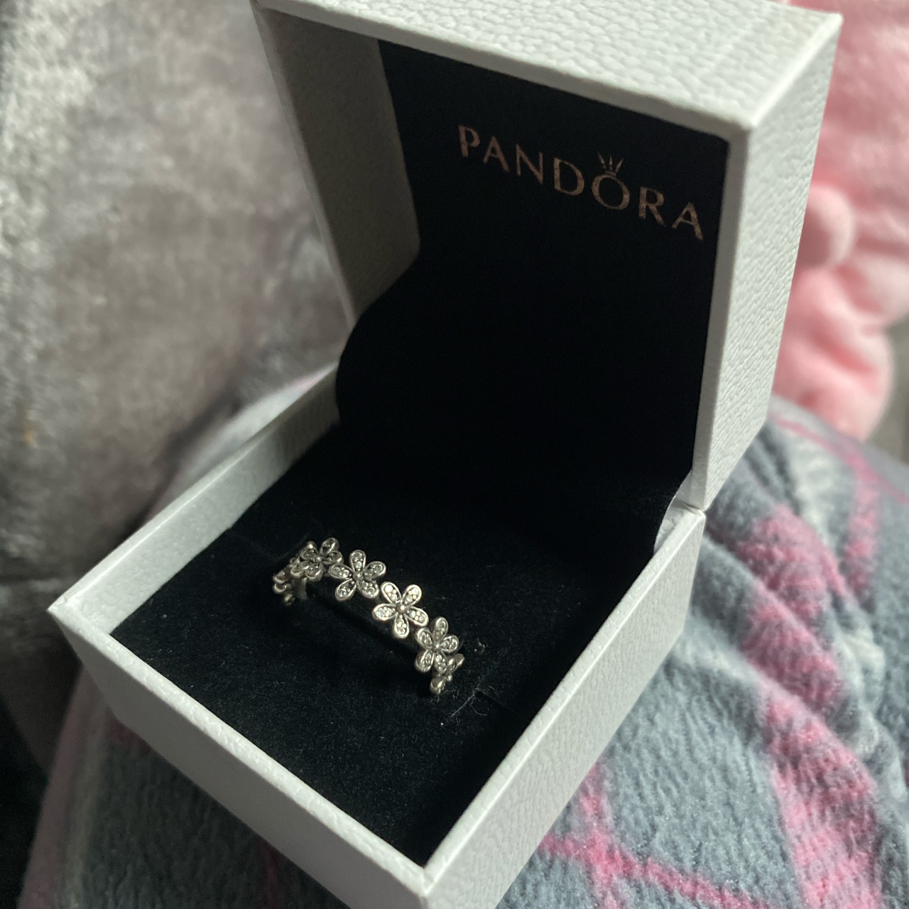 Product Image 1 - The flower Pandora ring  Was