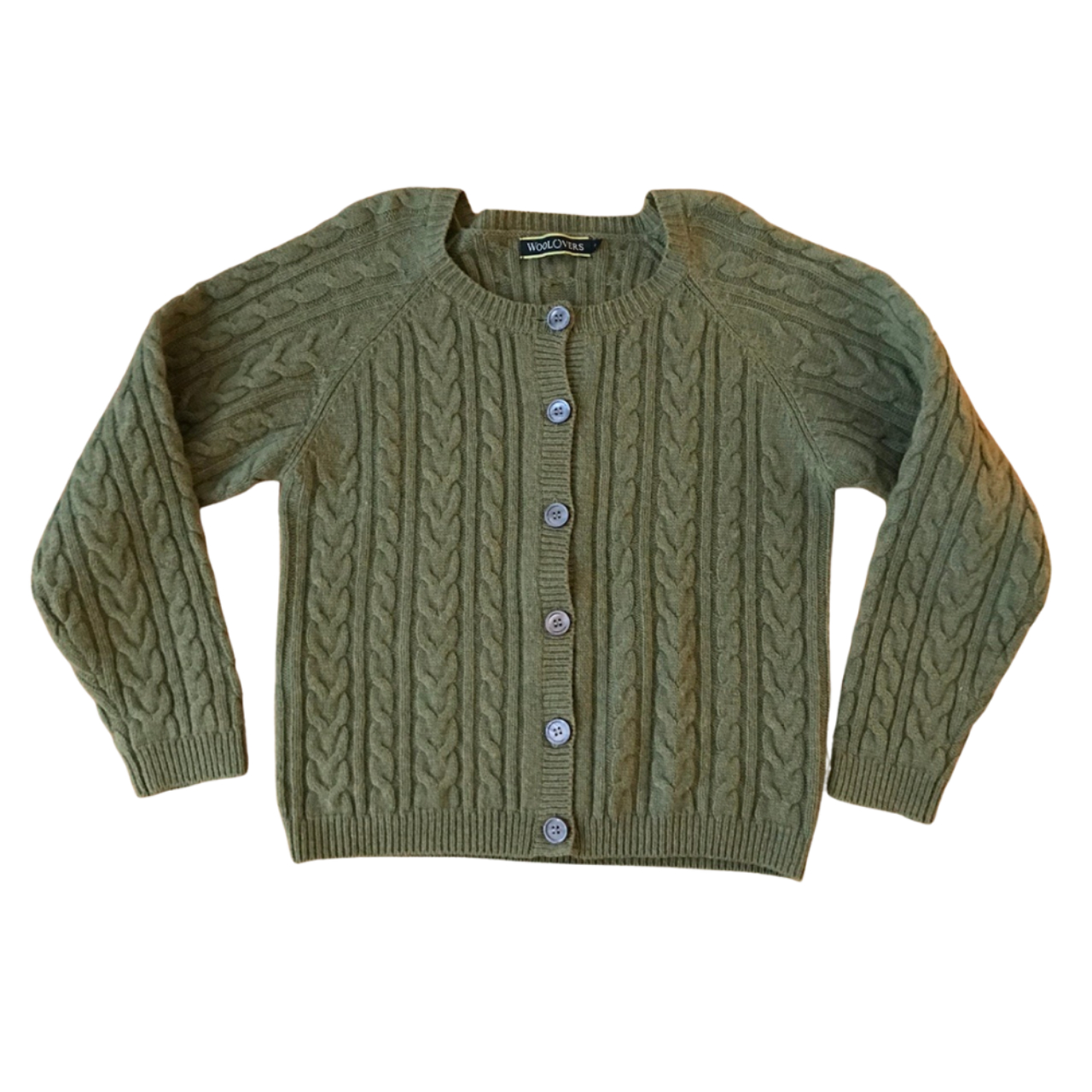Product Image 1 - Woolovers Sage Green Cable Knit