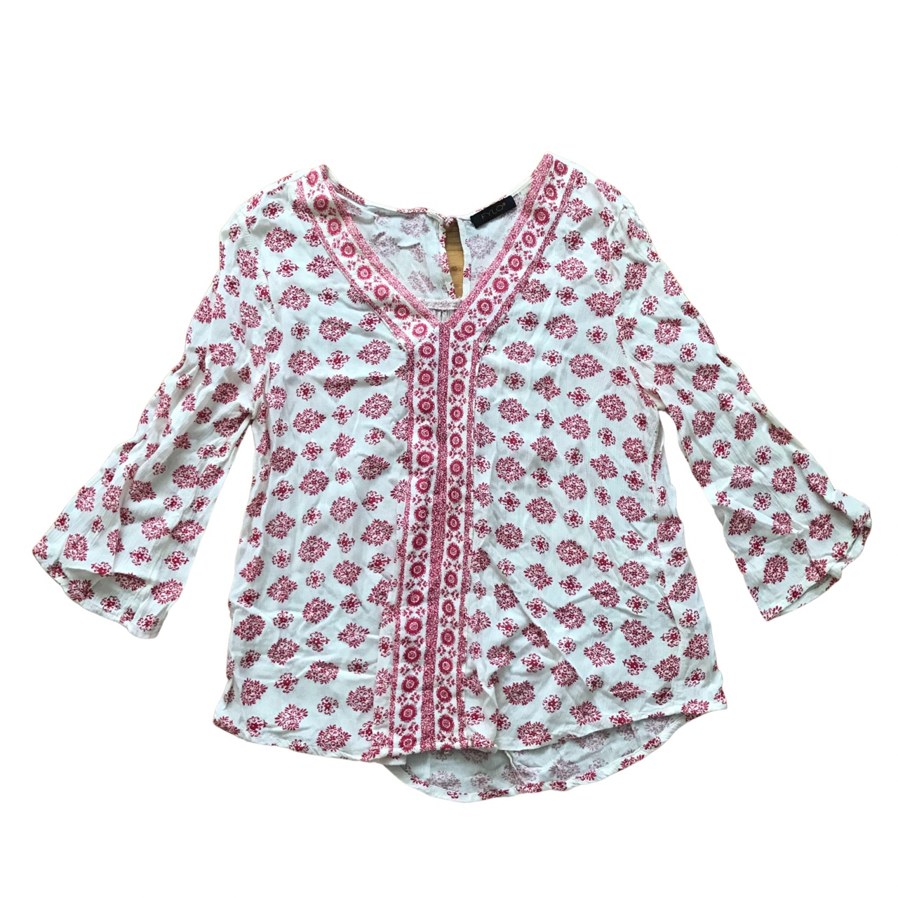 Product Image 1 - FYLO Red Patterned Textured Cotton