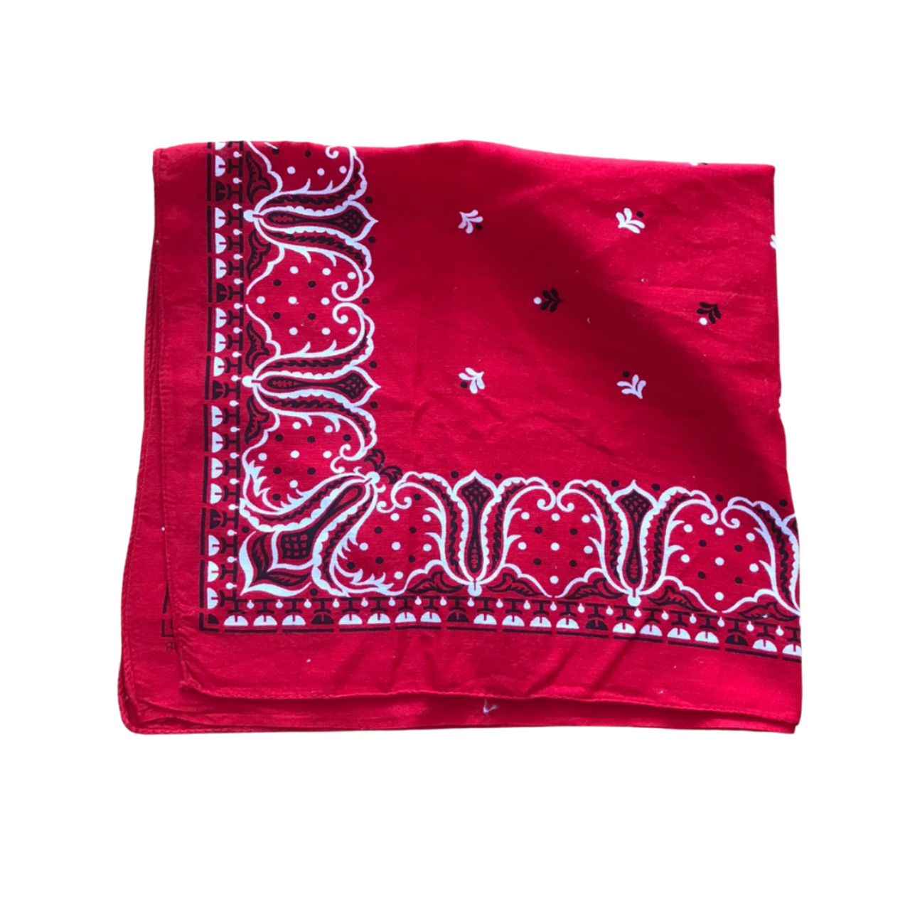 Product Image 1 - 1970s Vintage Red Paisley Patterned