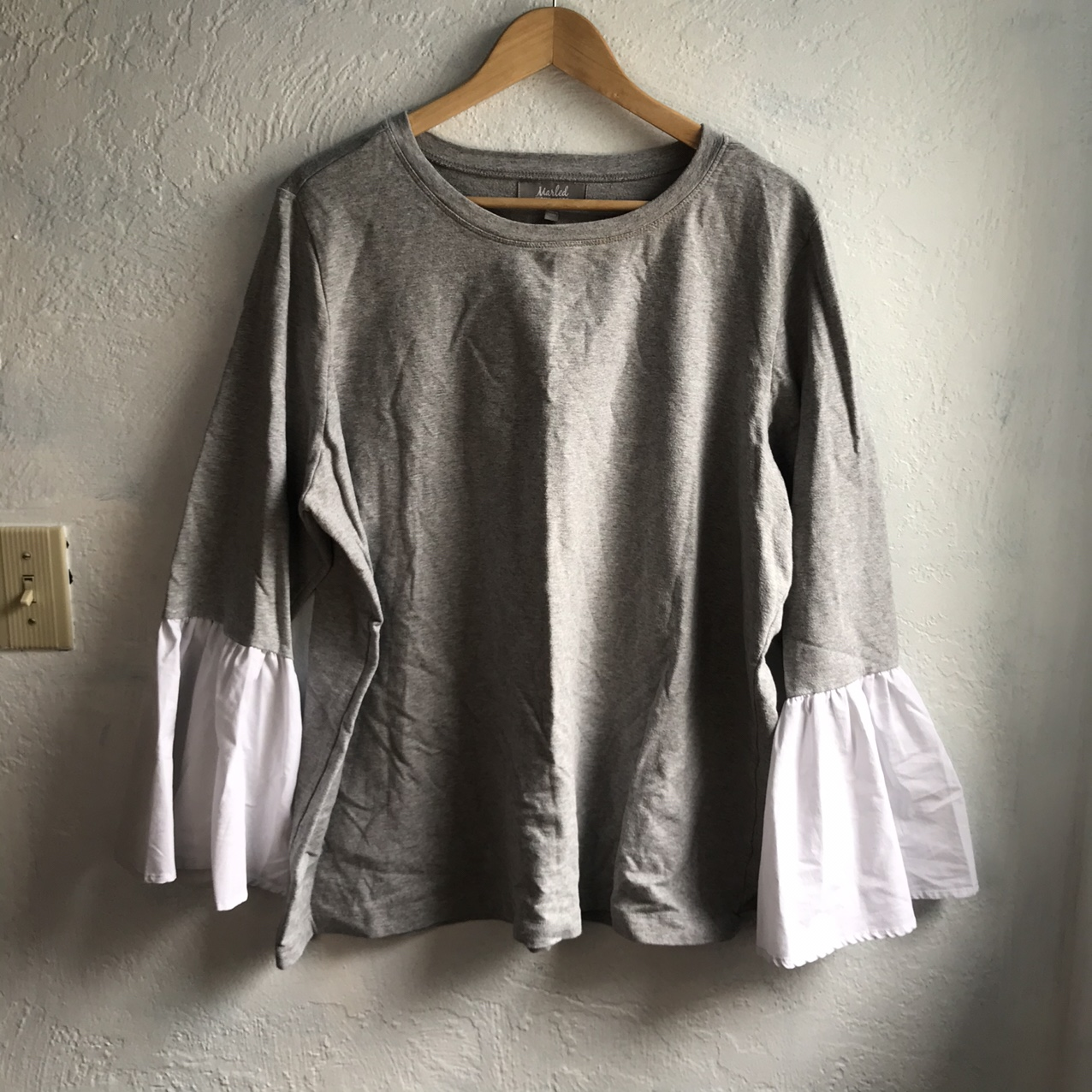 Product Image 1 - Marled Reunited Clothing Gray Bell