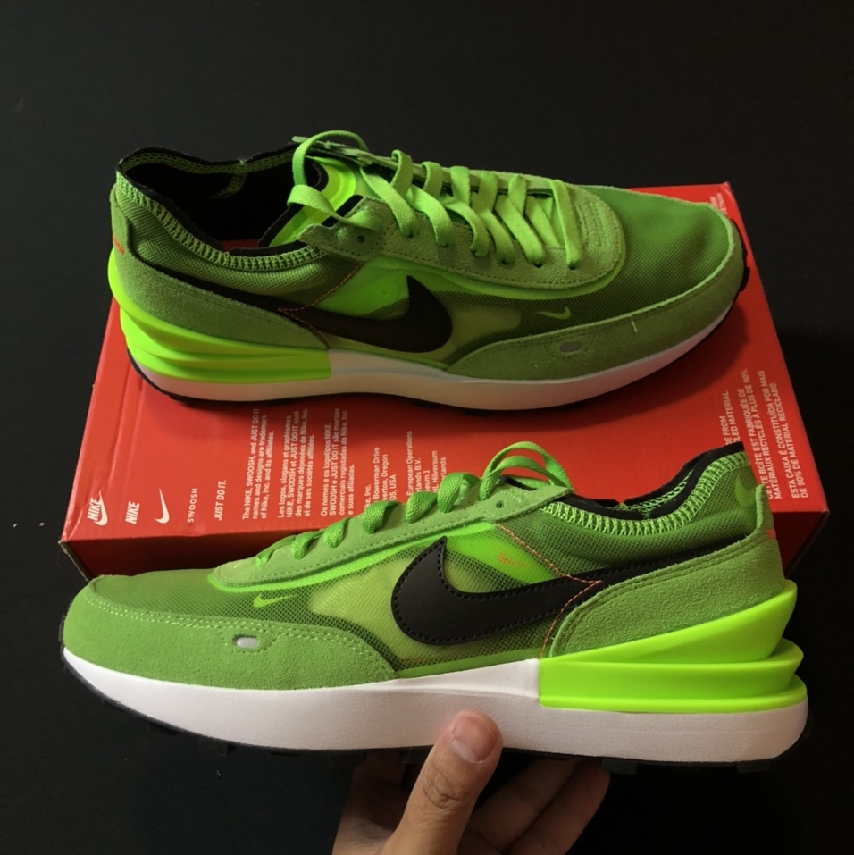 Product Image 1 - Nike Waffle One  Electric Green