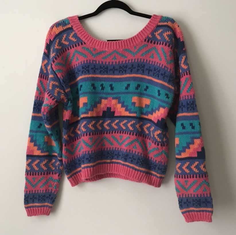 Product Image 1 - Nuovo vintage sweater. Size S  Length