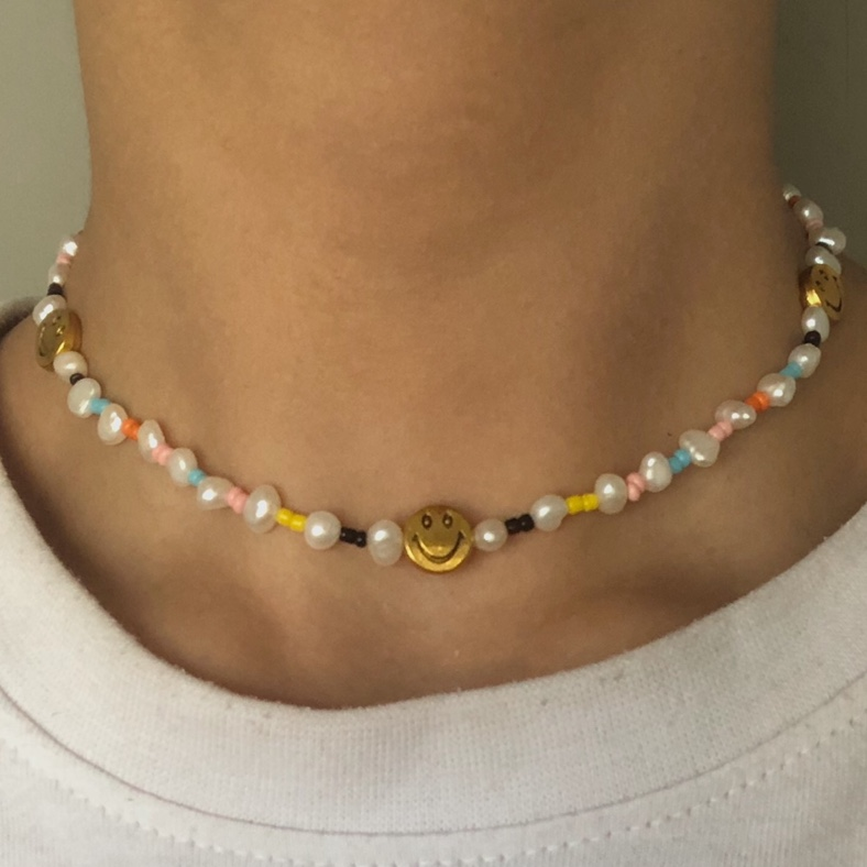 Product Image 1 - Beaded choker necklace with 3x