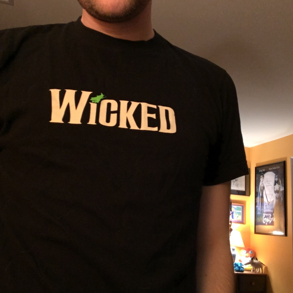 Product Image 1 - Wicked official Broadway musical shirt.