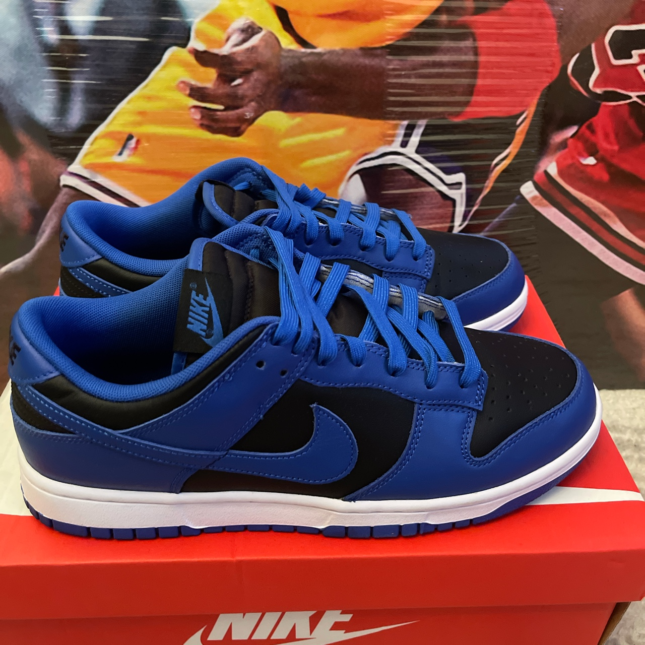 Product Image 1 - Nike Dunk Low Black Hyper
