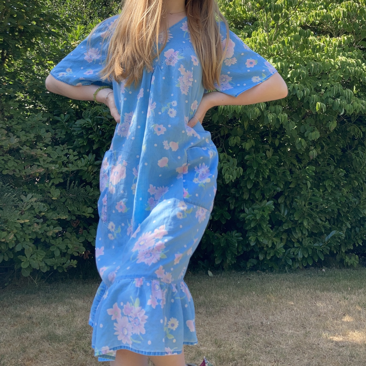 Product Image 1 - ☁️ 60s dress  💫 features Sky