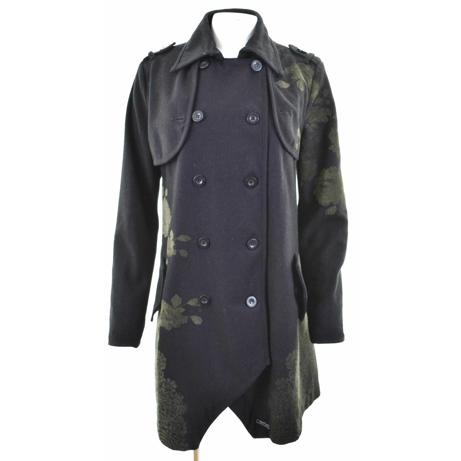 Product Image 1 - DESIGUAL Womens Double Breasted Coat