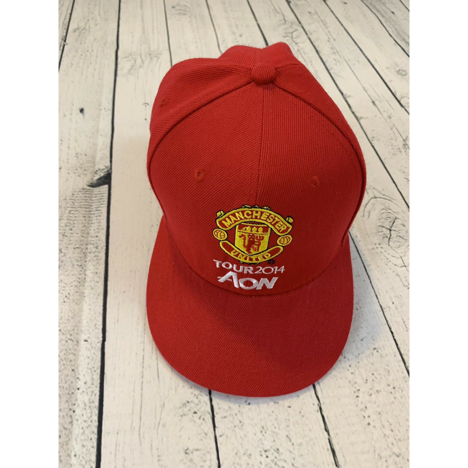Product Image 1 - Manchester United Red Snap Back