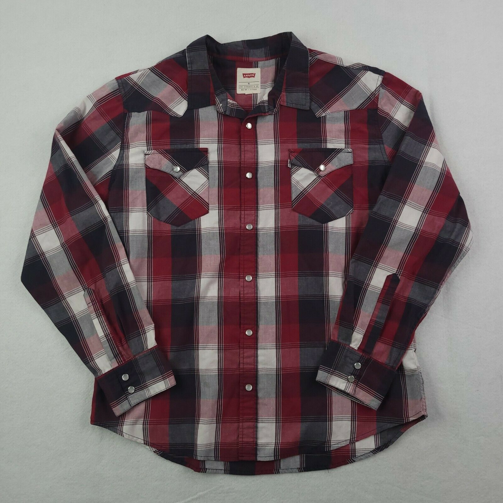 Product Image 1 - Levis Pearl Snap Shirt Adult
