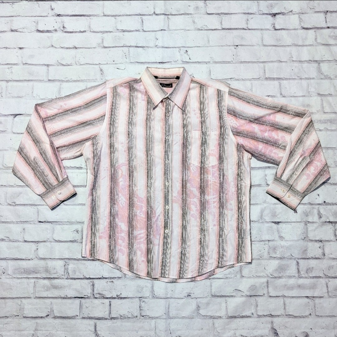 Product Image 1 - Pastel pink striped button up