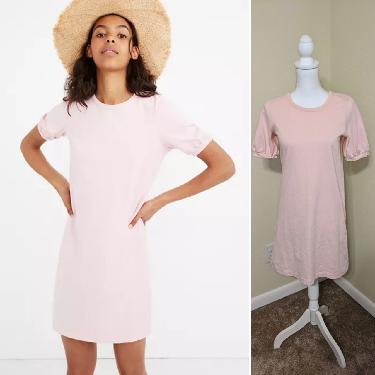 Product Image 1 - Madewell puff sleeve blush pink