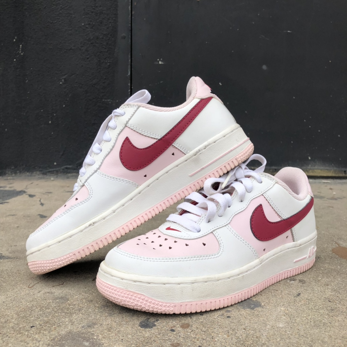 2006 Valentines Day edition Nike Air Force 1's in... - Depop