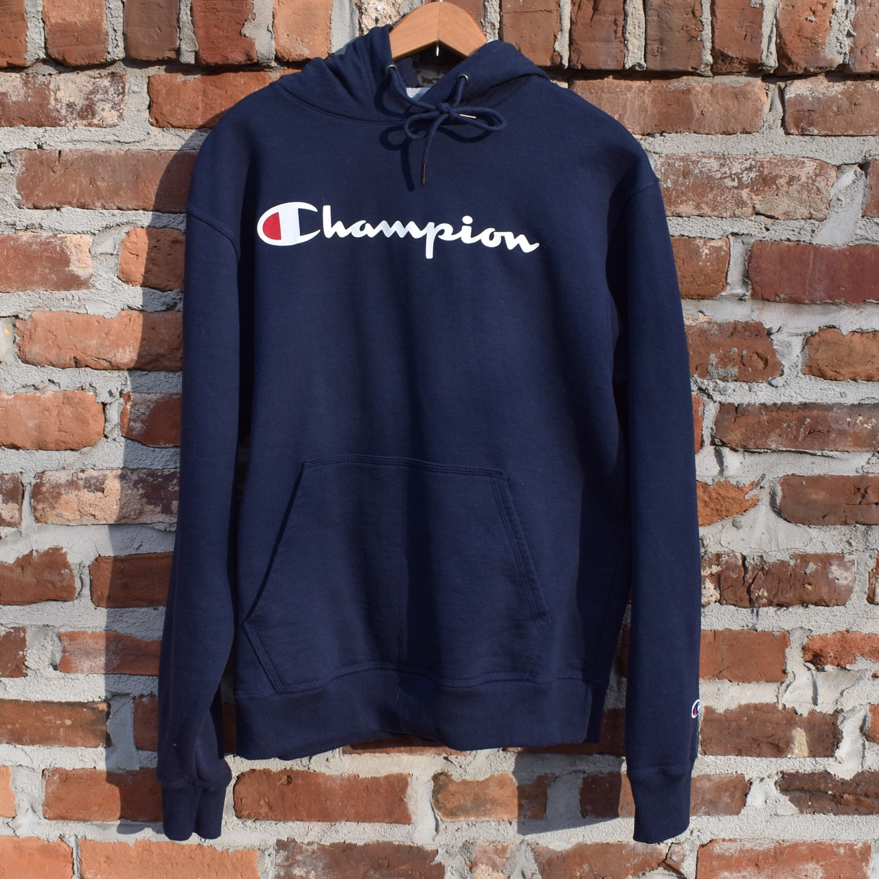 Product Image 1 - 🖤great condition Navy champion hoodie🖤 ‼️ALL