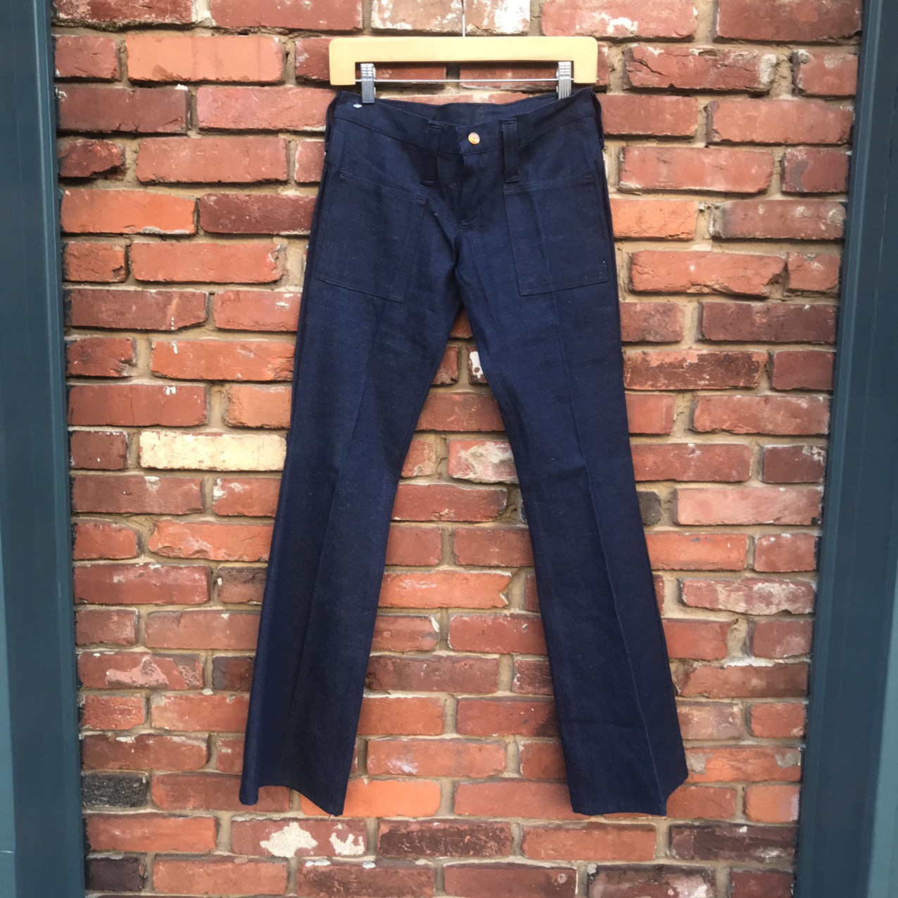 Product Image 1 - VINTAGE ICONIC STRETCH FLARE JEANS!
