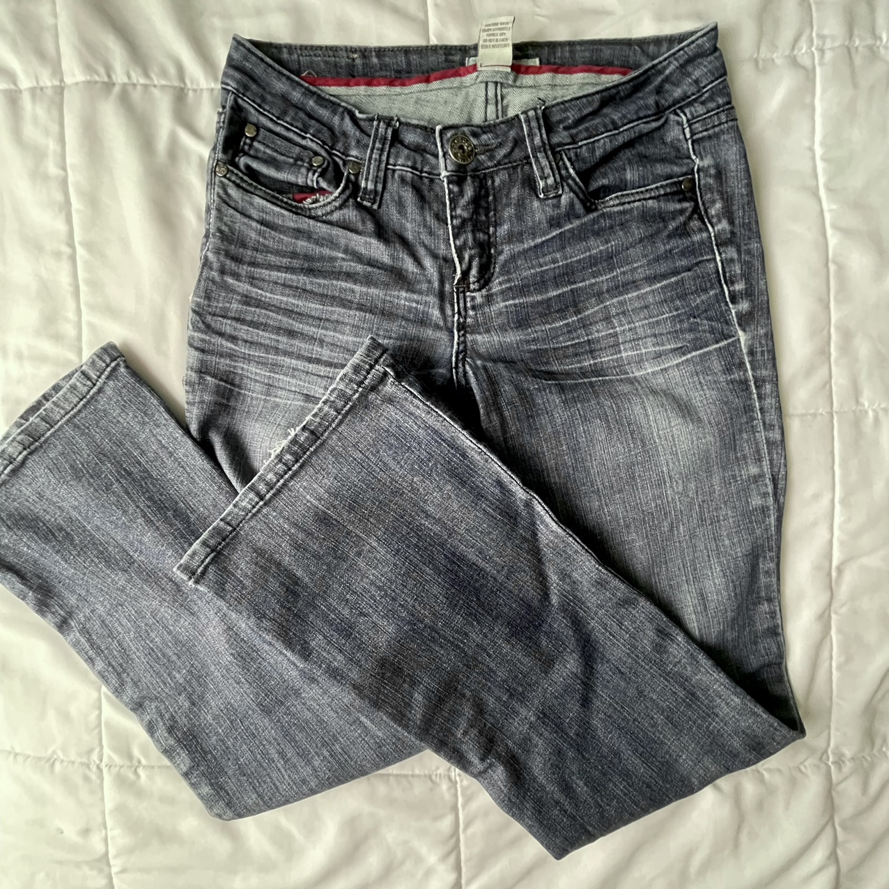 Product Image 1 - ୨୧ low-rise midwash baggy flare