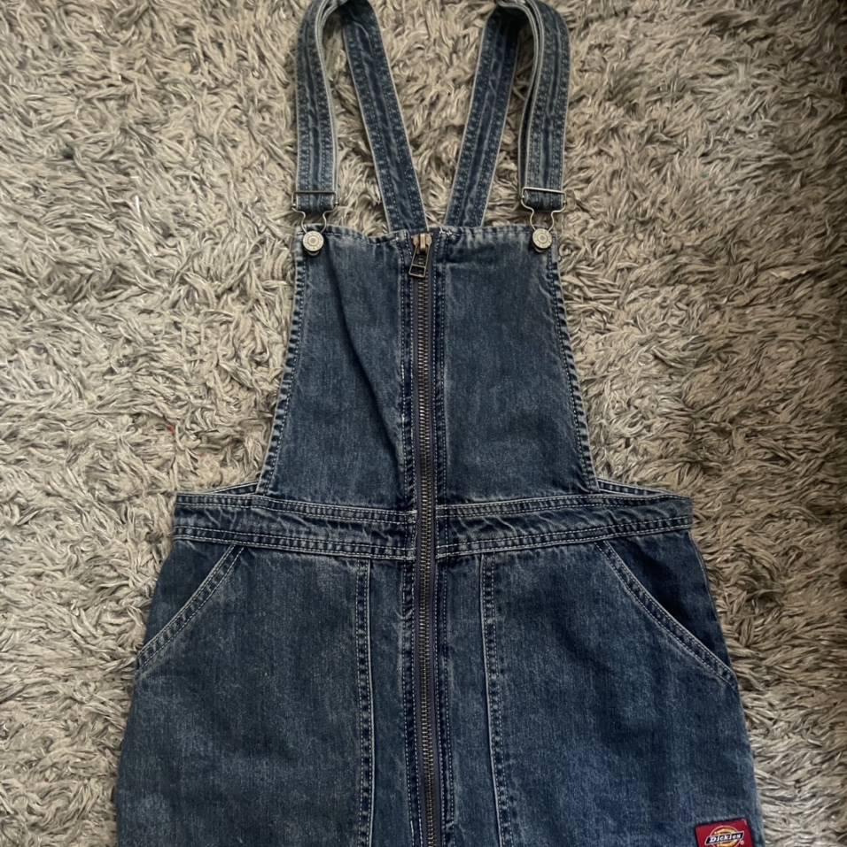 Product Image 1 - Dickies Denim Overall Dress Great Condition.
