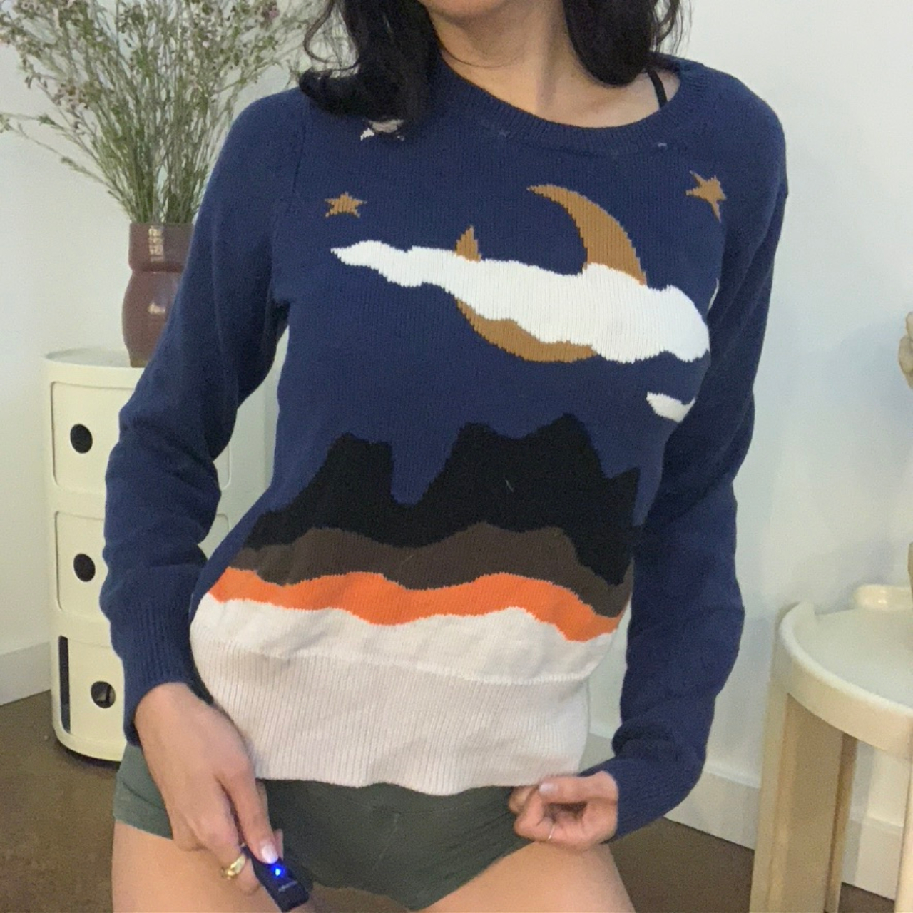 Product Image 1 - Coach Nighttime Sweater  You might ask
