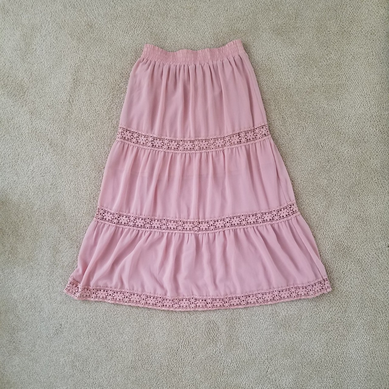 Product Image 1 - Excellent condition, pink boho crochet