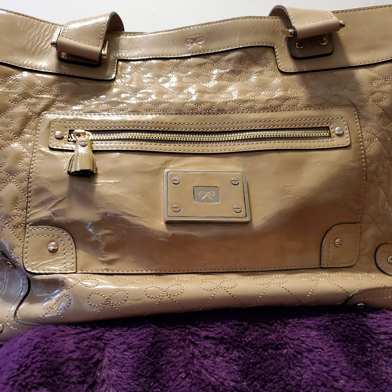 Product Image 1 - Large Anya Hindmarch cream colored